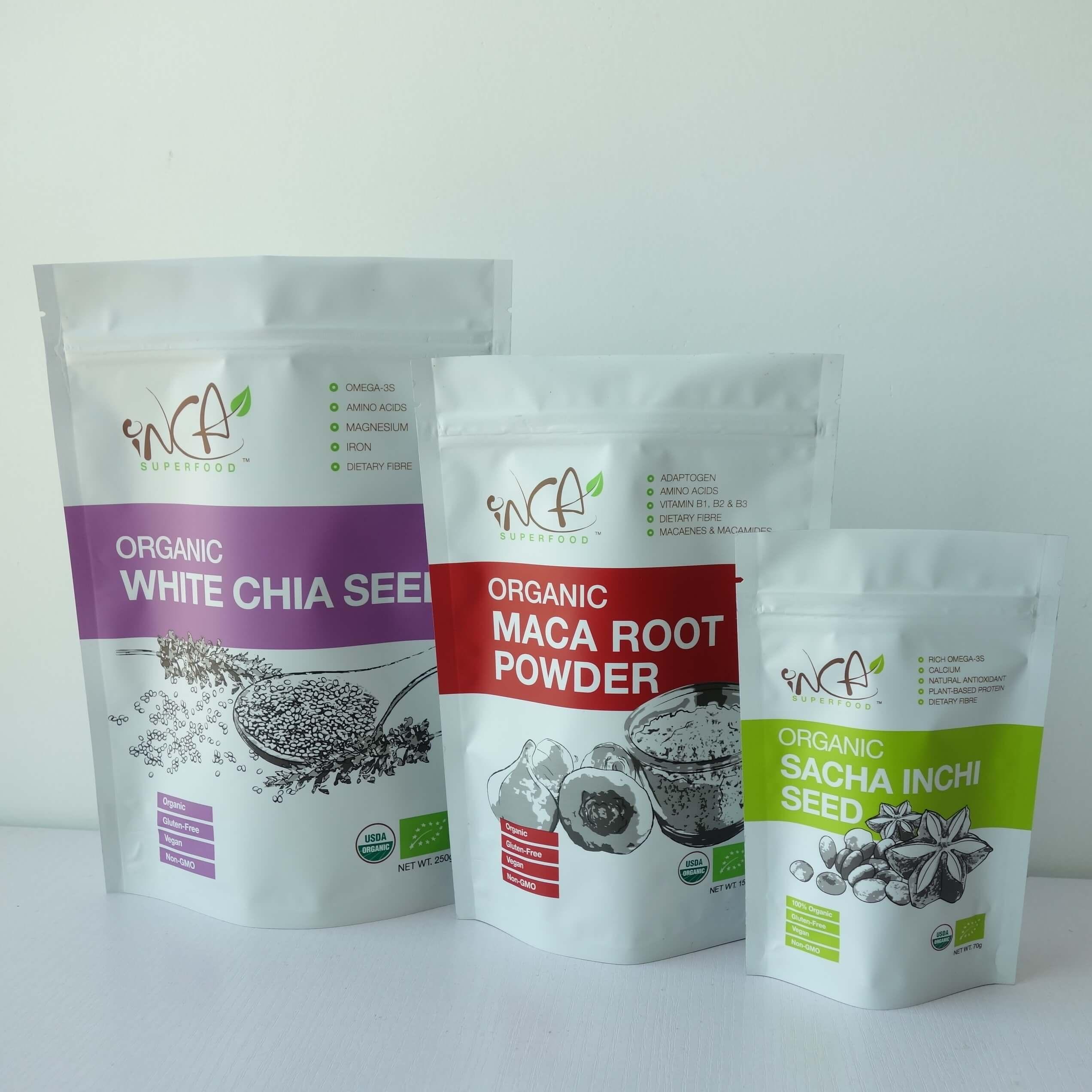 Organic Dry Food Packaging