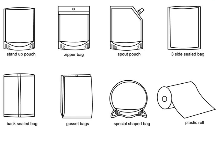 Packaging shapes