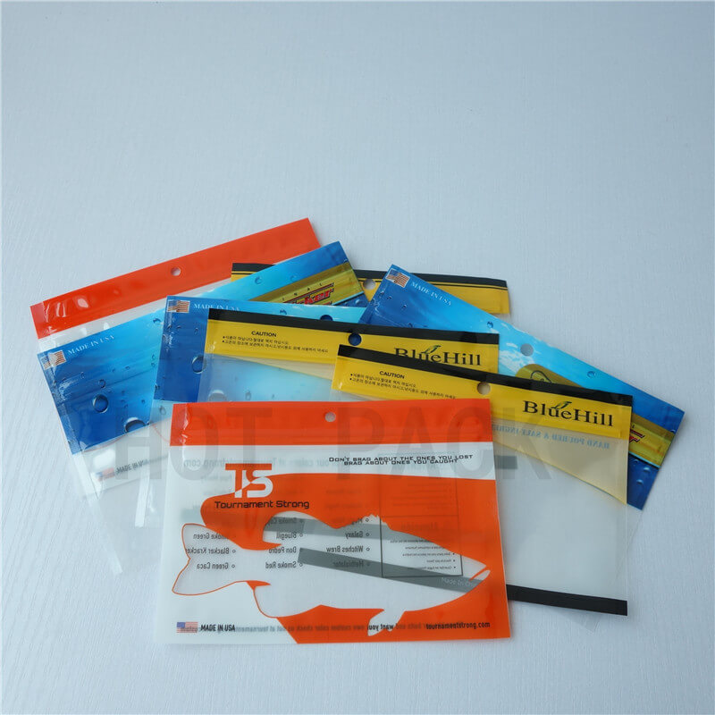 fishing lure bags with zipper