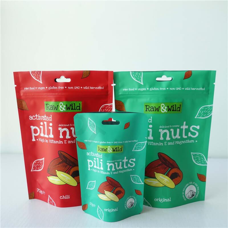 nuts packaging bags