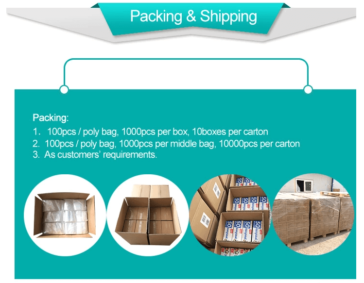 packing and shipping