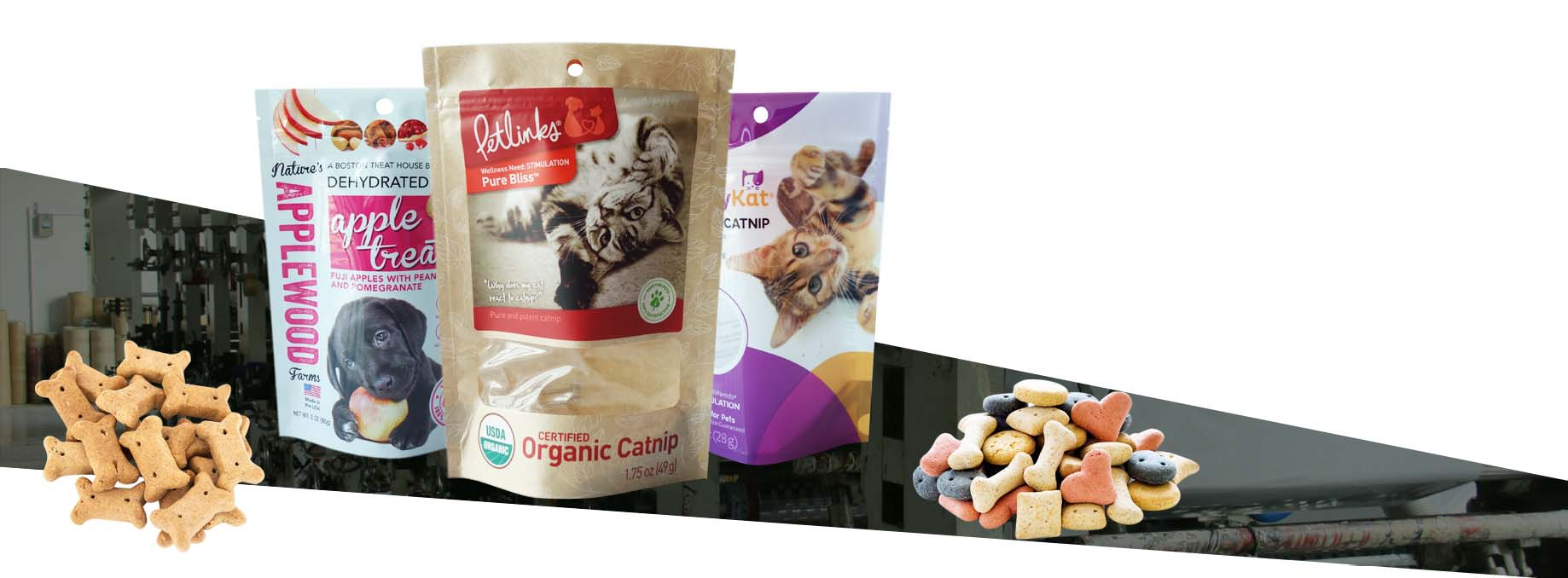 stand up pouches for pet food